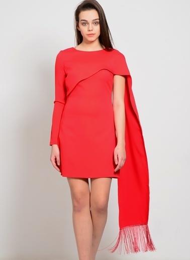 Lavish Alice Elbise Kırmızı